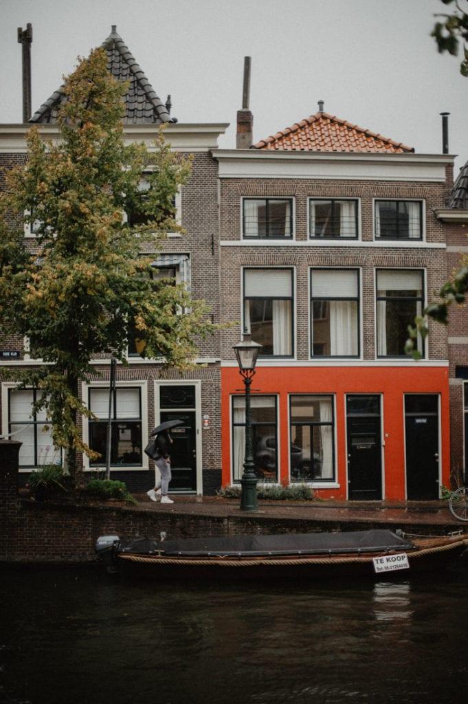 Leiden city photo