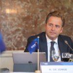 Minister of Health De Jonge