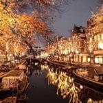 Amsterdam in November. Photo credits: Arden