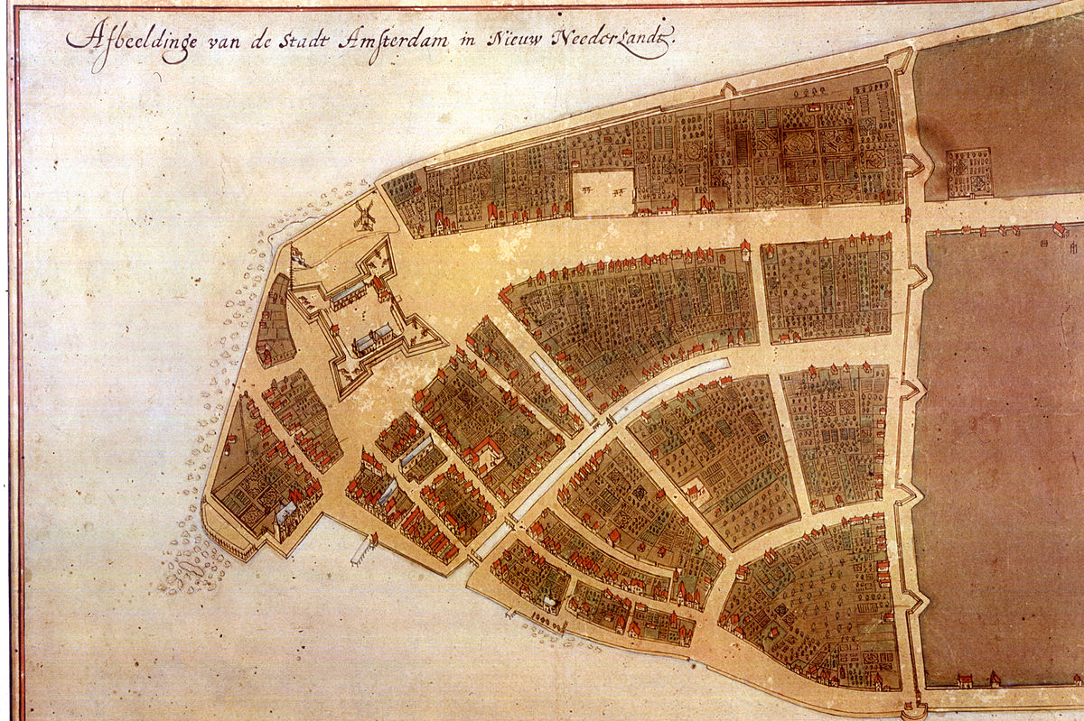 photo-of-a-map-of-new-amsterdam-in-new-netherland