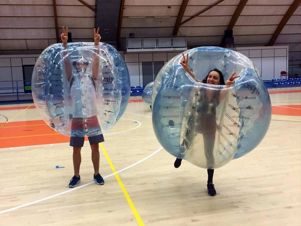 Bubble Football - happy