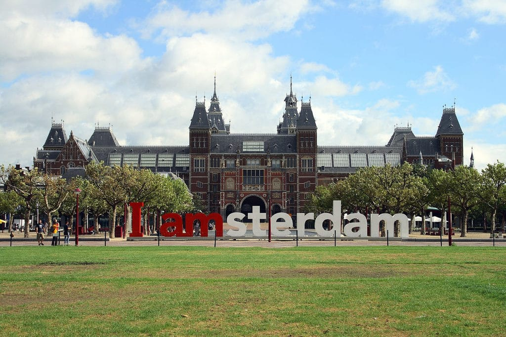 museum - autumn in Amsterdam