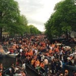 King's day festivals in the Netherlands