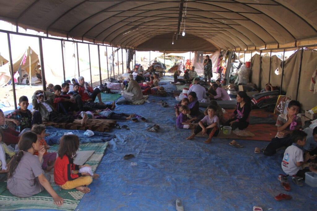yazidi-refugee-camp