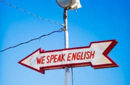 first rank - speaking English
