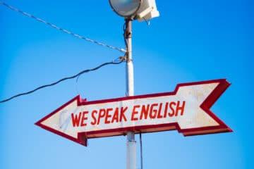 first rank - speaking English
