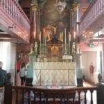 16th Century Altar of the church in Museum Ons Lieve Heer op Solder Amsterdam