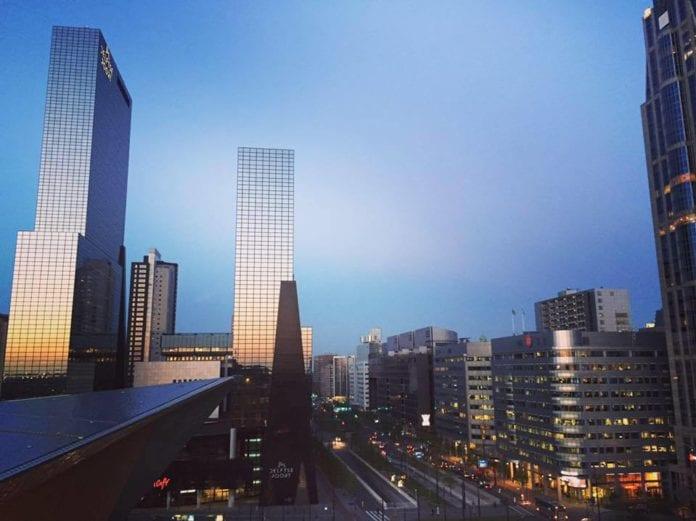 Rotterdam rooftop