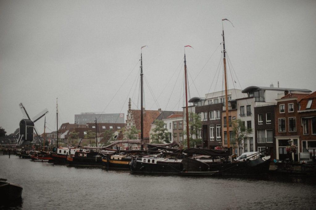 Leiden harbour