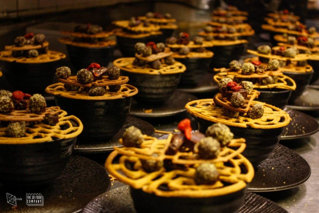 3D printed food at Uprinting Food