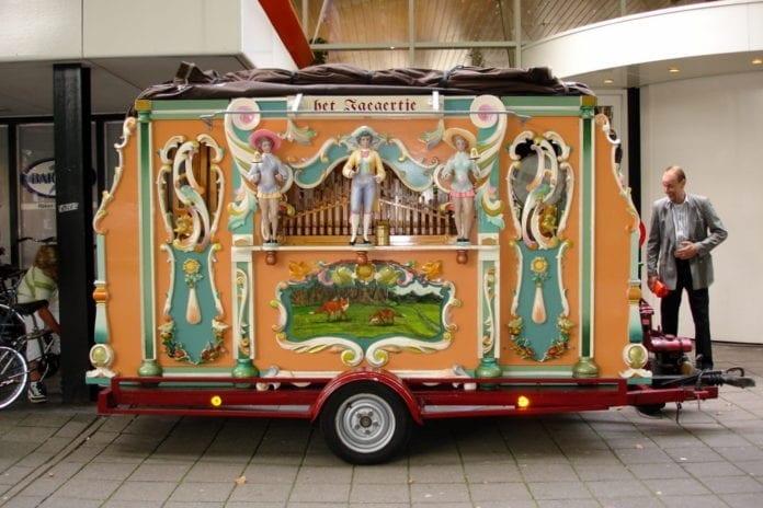 Barrel Organ in the Netherlands
