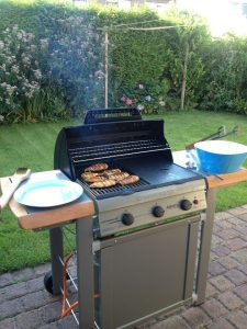 Barbecuing in the netherlands