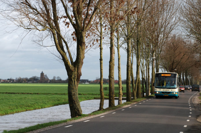 bus in the netherlands