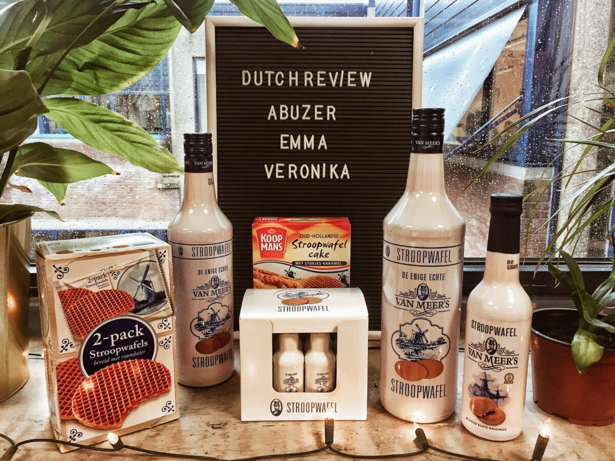 stroopwafel liquor the perfect dutch sinterklaas and christmas gift