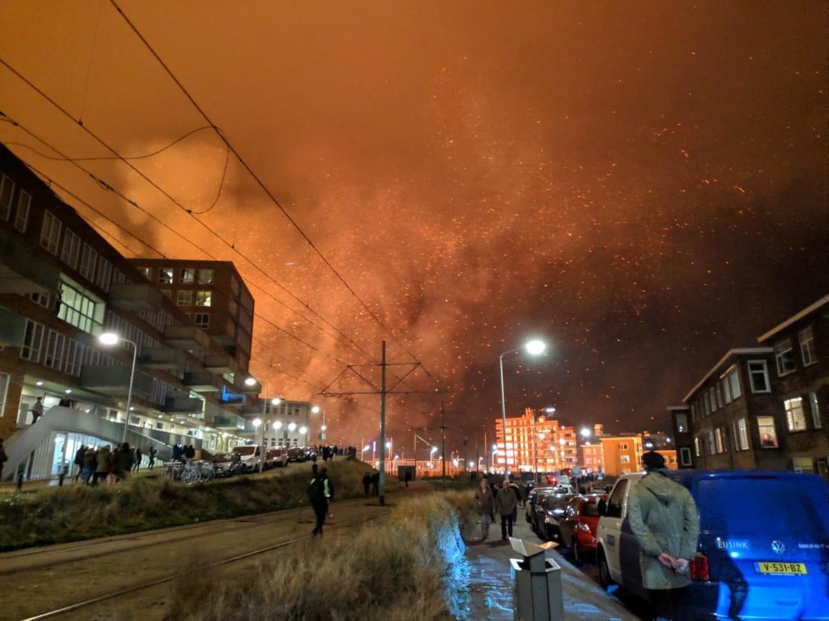 The Big Bonfire Firestorm: so what really happened at Scheveningen