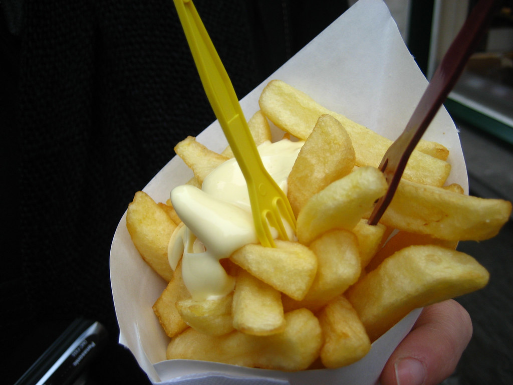 patat of friet map