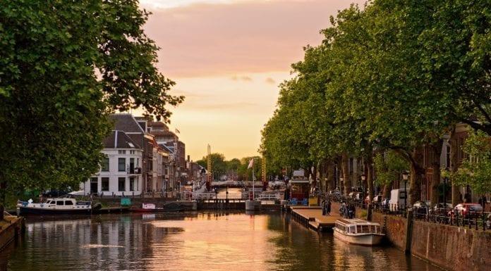 utrecht-netherlands-sunset