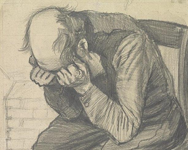 vincent-van-gogh-sketch-man-holding-head-in-hands