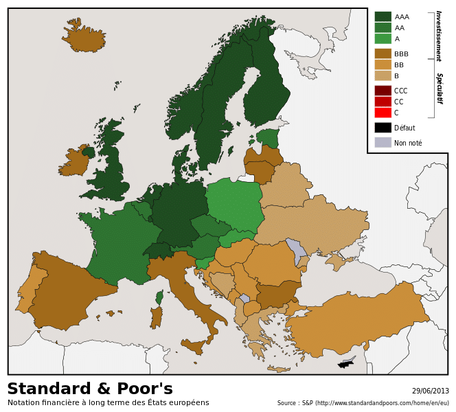 Lazy brown countries!