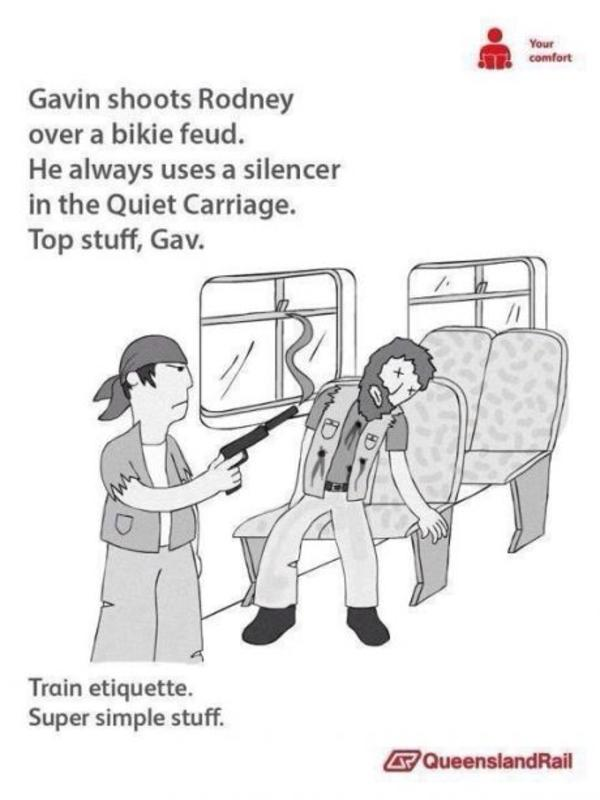 Train etiquette on Dutch trains
