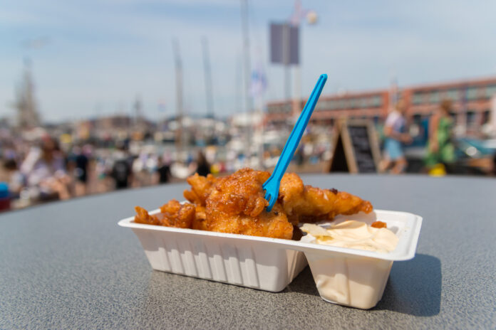 photo-kibbeling-in-plastic-container-with-plastic-fork-served-in-scheveningen