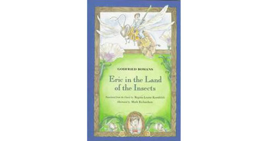 Photo-of-Eric-in-the-land-of-the-insects-book-cover