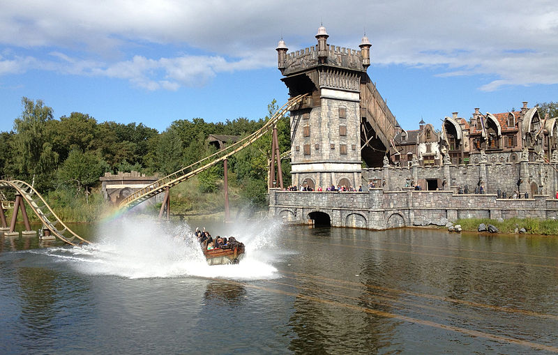 photo-of-a-roller-coaster-in-efteling