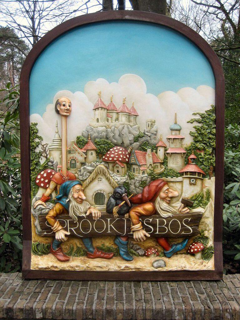 photo-of-het-sprookjesboek-sign-in-efteling