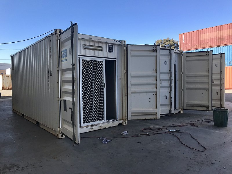 More Airbnb issues as shipping containers used as illegal