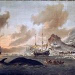 800px-Walvisvangst_bij_de_kust_van_Spitsbergen_-_Dutch_whalers_near_Spitsbergen_(Abraham_Storck,_1690) – Copy (2)