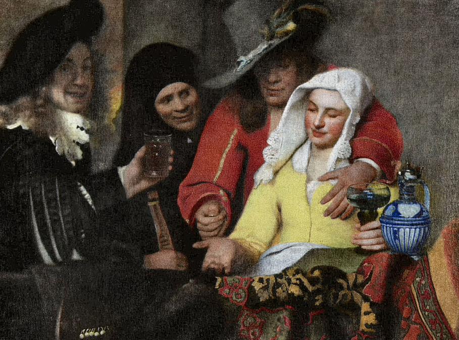 Painting-of-the-procuress-by-Jan-Vermeer