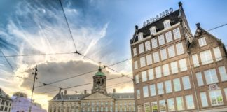 ABN Amro at the Damsquare Amsterdam