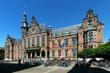 The 'Academie'  building - student hotspot