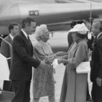 American-Dutch relations – Queen Beatrix greets President Bush