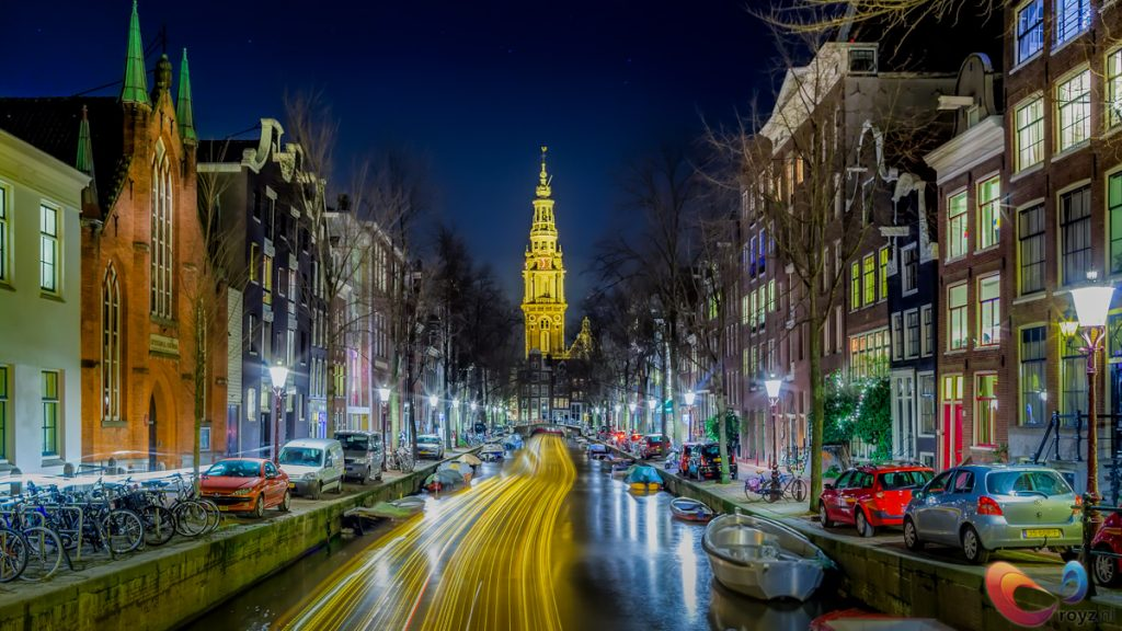 The canals of historical Amsterdam