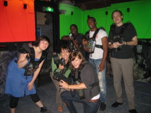 Laser tagging - Staycation