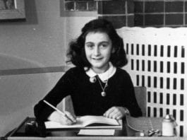 new pages of Anne Frank's diary