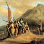 Arrival-of-Jan-van-Riebeeck-in-South-Africa-by-Charles-Bell