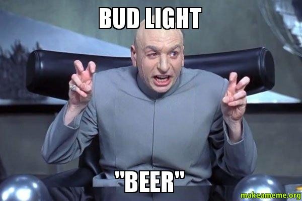 Light beer, seriously?