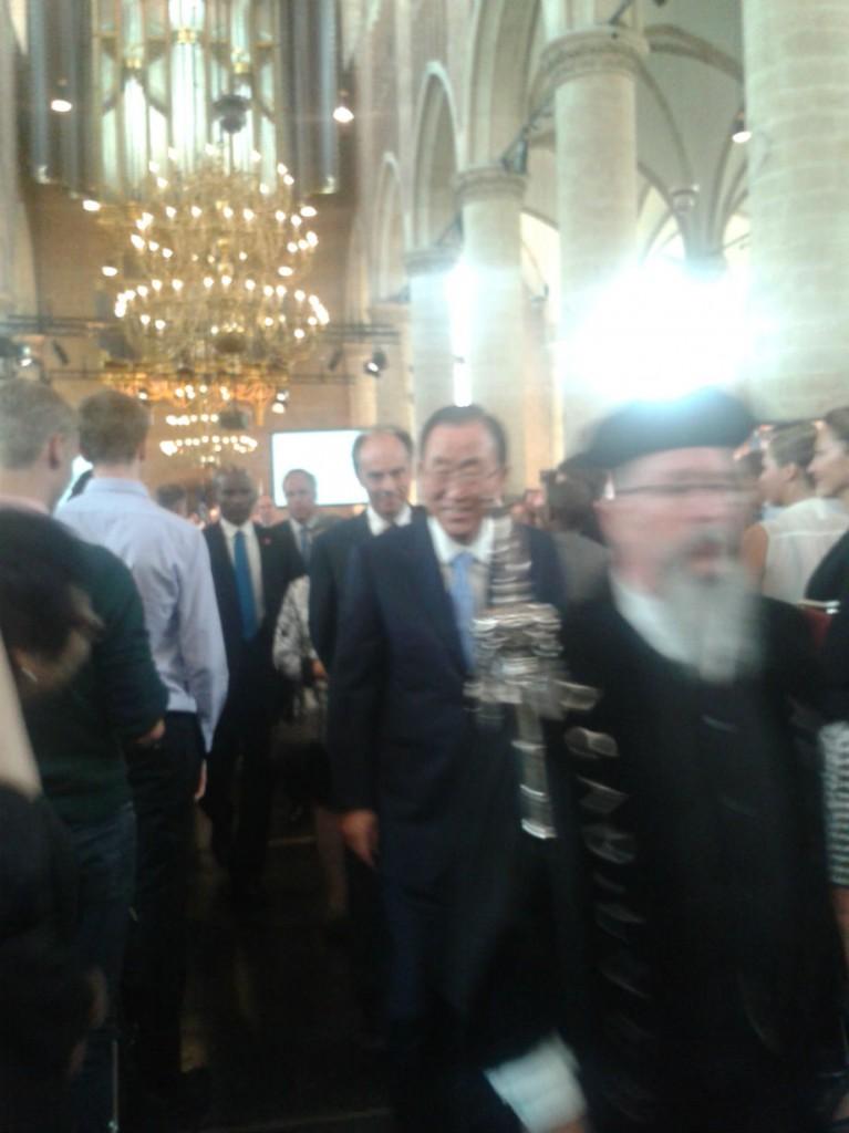Ban Ki-moon Leiden