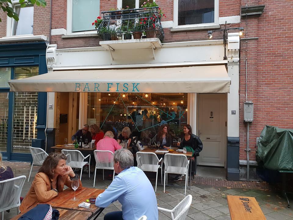 Outside-of-Bar-Fisk-restuarant-in-Amsterdam