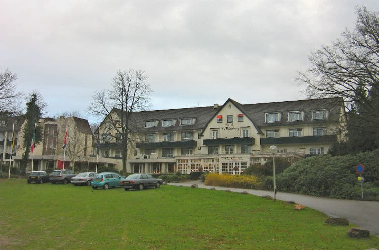 The obvious HQ of evil. The Bilderberg Hotel.