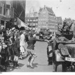 Amsterdam, Durchmarsch deutscher Truppen