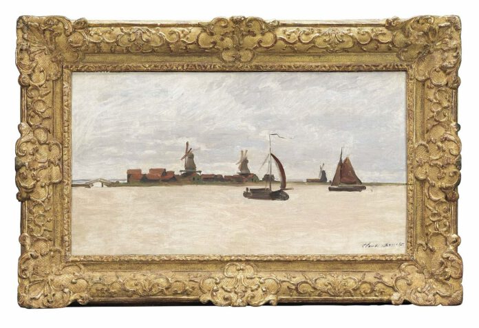 Photo-of-Monet-painting-De-Voorzaan-en-de-Westerhem