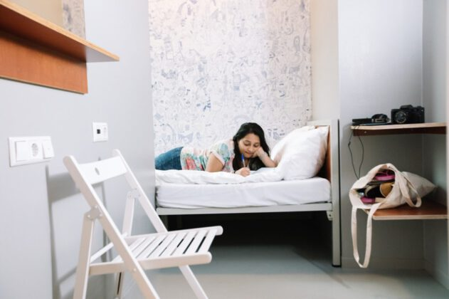 photo-of-girl-on-bed-in-clinknoord-long-stay-amsterdam