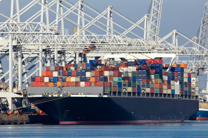 Container-ship-at-Rotterdam-port-with-cocaine