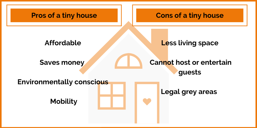 pros and cons of a tiny house