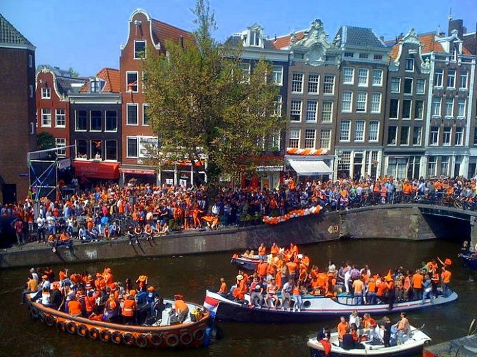 photo-of-kings-day-celebrations-in-the-netherlands