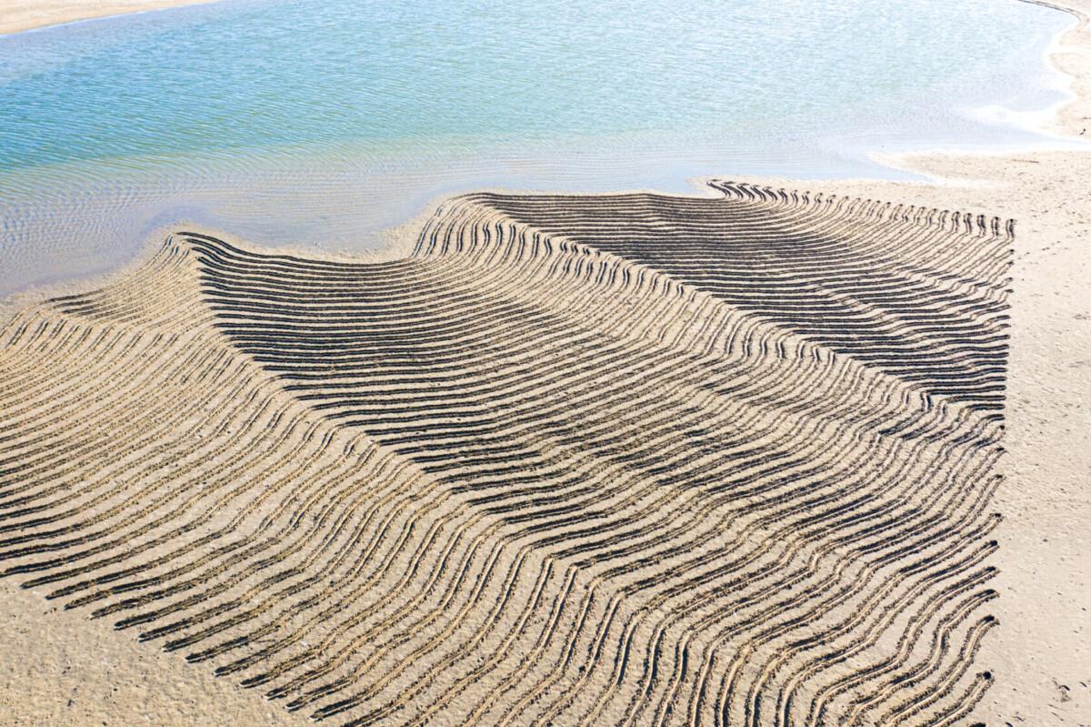 sandman sand art