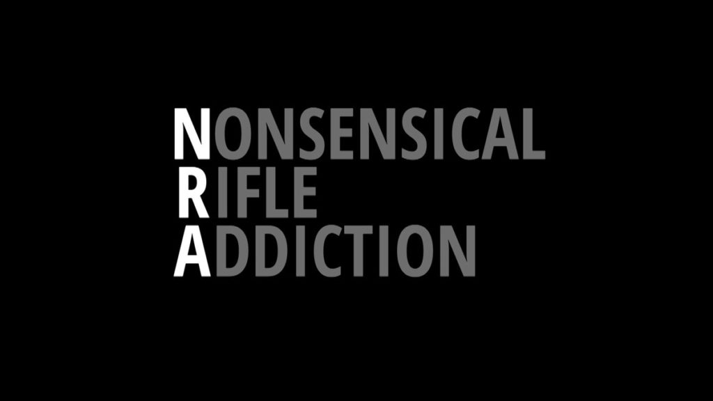 Dutch late night show host Arjen Lubach blastsNonsensical Rifle Addiction (NRA) in another hilarious/outrageous video